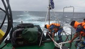 BTL Vùng Cảnh sát biển 3 cứu nạn thành công tàu PY 96182TS bị nạn trong tâm bão số 4