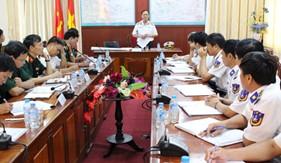 Thứ trưởng Bộ Quốc phòng thăm và làm việc tại BTL Vùng Cảnh sát biển 4