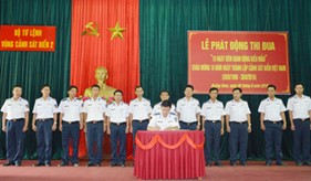BTL Vùng Cảnh sát biển 2 tổ chức phát động đợt thi đua cao điểm chào mừng 18 năm ngày Thành lập Lực lượng Cảnh sát biển (28/8/1998 - 28/8/2016)