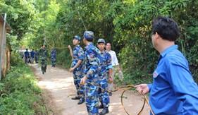 """Tuổi trẻ BTL Vùng Cảnh sát biển 2 tích cực hưởng ứng chiến dịch tình nguyện """"mùa hè xanh 2016"""""""