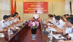 """BTL Vùng Cảnh sát biển 2 sơ kết thực hiện mô hình """"Ngày Kỹ thuật thanh niên tự quản"""""""