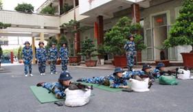 Cụm Trinh sát số 1 sơ kết thực hiện nghị quyết của Đảng ủy BTL Cảnh sát biển về nâng cao trình độ ngoại ngữ và chất lượng công tác huấn luyện