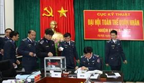 Đại hội Toàn thể quân nhân Cục Kỹ thuật nhiệm kỳ 2016-2017