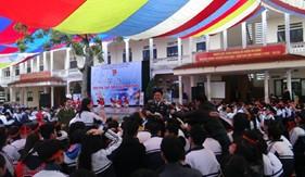 BTL Vùng Cảnh sát biển 1 phối hợp tuyên truyền phòng chống ma túy trong học đường