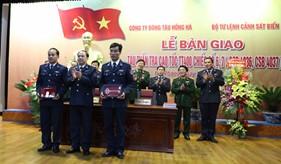 BTL Cảnh sát biển tiếp nhận bàn giao 2 tàu tuần tra cao tốc TT-400