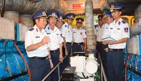 BTL Cảnh sát biển kiểm tra đơn vị vững mạnh toàn diện năm 2016 tại BTL Vùng Cảnh sát biển 3