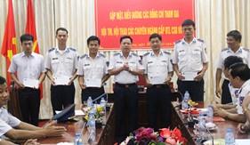 BTL Vùng Cảnh sát biển 4 biểu dương các đồng chí đạt giải cao trong hội thi, hội thao các cấp