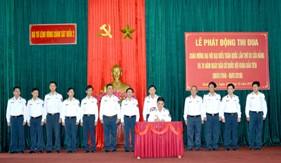 BTL Vùng Cảnh sát biển 2 phát động thi đua cao điểm chào mừng ĐHĐB toàn quốc lần thứ XII vủa Đảng