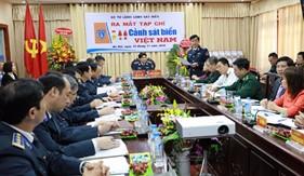 Ra mắt Tạp chí Cảnh sát biển Việt Nam