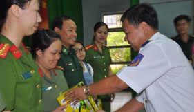 Hội Phụ nữ BTL Vùng Cảnh sát biển 3 đăng cai tổ chức các hoạt động Hội Phụ nữ LLVT tỉnh Bà Rịa - Vũng Tàu