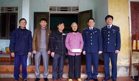 Hải đội 102/ BTL Vùng Cảnh sát biển 1 đẩy mạnh các hoạt động mừng Đảng, mừng Xuân
