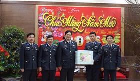 Tư lệnh Cảnh sát biển Việt Nam thăm, chúc Tết các đơn vị Cảnh sát biển tại Hải Phòng