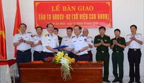 Cảnh sát biển nhận bàn giao tàu trinh sát 500CV chiếc số 2