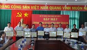 BTL Vùng Cảnh sát biển 3 tổ chức gặp mặt lãnh đạo, phóng viên các cơ quan thông tấn báo chí