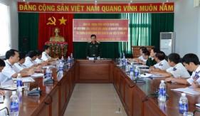 Thứ trưởng Bộ Quốc phòng thăm và làm việc tại BTL Vùng Cảnh sát biển 3