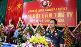 Đại hội Đại biểu Đảng bộ Vùng Cảnh sát biển 3 lần thứ IV (nhiệm kỳ 2015-2020)