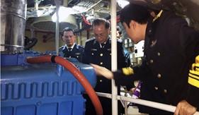 Cục Kỹ thuật thử nghiệm thành công sản phẩm đề tài nghiên cứu khoa học trên tàu Cảnh sát biển