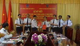 Ký kết Quy chế phối hợp giữa BTL Vùng Cảnh sát biển 2 với các Cảng vụ hàng hải miền Trung từ Quảng Trị đến Bình Định
