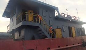 Bộ Tư lệnh Vùng CSB1 cứu tàu bị nạn trên biển