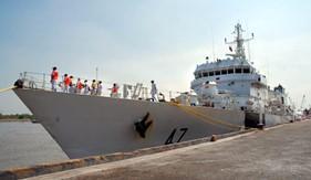 Cảnh sát biển cứu hộ thành công tàu nước ngoài