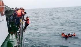 BTL Vùng Cảnh sát biển  4 cứu hộ, cứu nạn trên vùng biển Tây Nam