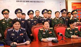 Bộ trưởng Bộ Quốc phòng gửi lời chúc Tết tới các tàu CSB làm nhiệm vụ trực tại các vùng biển