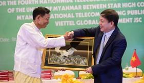 Nhận giấy phép tại Myanmar Viettel chính thức đầu tư vào thị trường thứ 10