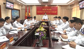 BTL Cảnh sát biển giao ban CTĐ, CTCT Quí I năm 2017