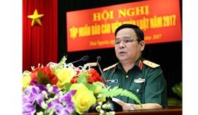 Tập huấn Báo cáo viên pháp luật toàn quân năm 2017