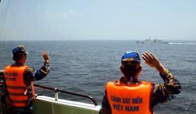 Kết thúc tốt đẹp chuyến kiểm tra liên hợp nghề cá  Việt Nam - Trung Quốc lần thứ nhất năm 2017