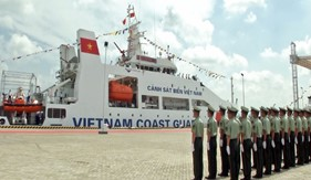 Cảnh sát biển Việt Nam thăm chính thức Trung Quốc