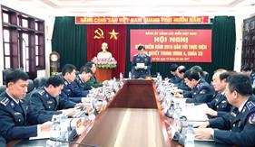 Quán triệt thực hiện nghiêm túc Nghị quyết Trung ương 4 (Khóa XII), xây dựng Đảng bộ Cảnh sát biển trong sạch, vững mạnh