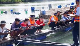 Cụm ĐN PCTP ma túy số 3 tuyên truyền về biển đảo và pháp luật cho ngư dân