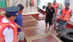 BTL Vùng Cảnh sát biển 4 liên tiếp bắt giữ tàu vận chuyển dầu trái phép