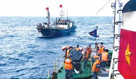 BTL Vùng Cảnh sát biển 2: Thực hiện 3 khâu đột phá trong phong trào Thi đua Quyết thắng