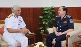 Họp Song phương lần thứ nhất giữa Cảnh sát biển Việt Nam và Lực lượng Bảo vệ bờ biển Ấn Độ
