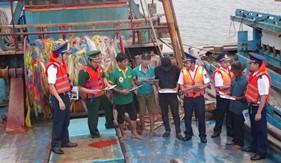 Cụm ĐN PCTP ma túy số 3 tuyên truyền  pháp luật phòng, chống ma túy cho ngư dân