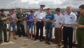 Phòng PCTP ma tuý tuyên truyền phòng, chống ma tuý cho bà con ngư dân