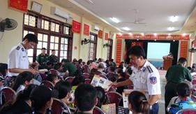 BTL Vùng Cảnh sát biển 1 phối hợp tuyên truyền pháp luật tại quận Đồ Sơn – Tp. Hải Phòng