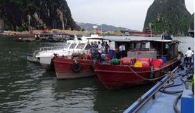 BTL Vùng Cảnh sát biển 1 xử phạt 2 tàu dầu vi phạm