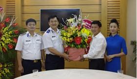 Lực lượng Cảnh sát biển thăm và chúc mừng các cơ quan thông tấn báo chí