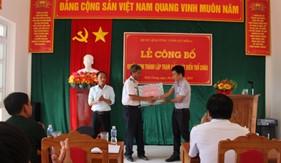 BTL Vùng Cảnh sát biển 4 công bố Quyết định thành lập  và ra mắt Trạm Cảnh sát biển tại xã đảo Thổ Châu, Phú Quốc