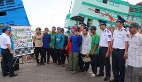 Tuyên truyền phòng chống ma túy cho ngư dân