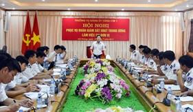 Ủy ban kiểm tra Trung ương làm việc tại BTL Vùng Cảnh sát biển 1