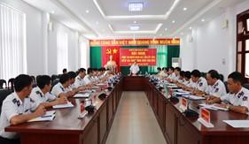Ủy ban Kiểm tra Trung ương làm việc với BTL Vùng Cảnh sát biển 3