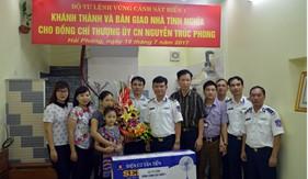 BTL Vùng Cảnh sát biển 1 bàn giao Nhà tình nghĩa