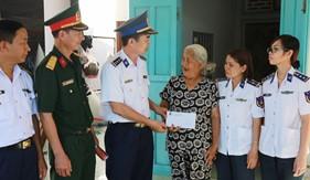 BTL Vùng Cảnh sát biển 3 tham gia xây dựng nông thôn mới