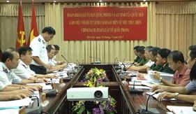 Ủy ban Quốc phòng và An ninh Quốc hội khảo sát tại BTL Cảnh sát biển