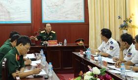 Bộ Quốc phòng kiểm tra kết quả thực hiện nhiệm vụ bảo vệ chủ quyền biển, đảo của BTL Vùng Cảnh sát biển 4