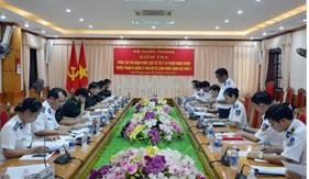 Bộ Quốc phòng kiểm tra công tác thi hành pháp luật về xử lý vi phạm hành chính tại BTL Vùng Cảnh sát biển 1
